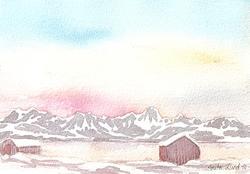 1) Mot jul - Fargetid i nord