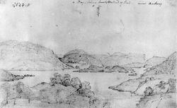 """Kil i SannidalFra skissealbum av John W. Edy, """"Drawings Nor"""