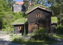 Barfrøstue fra Gammelstu Trønnes i Stor-Elvdal. Østerdalstun