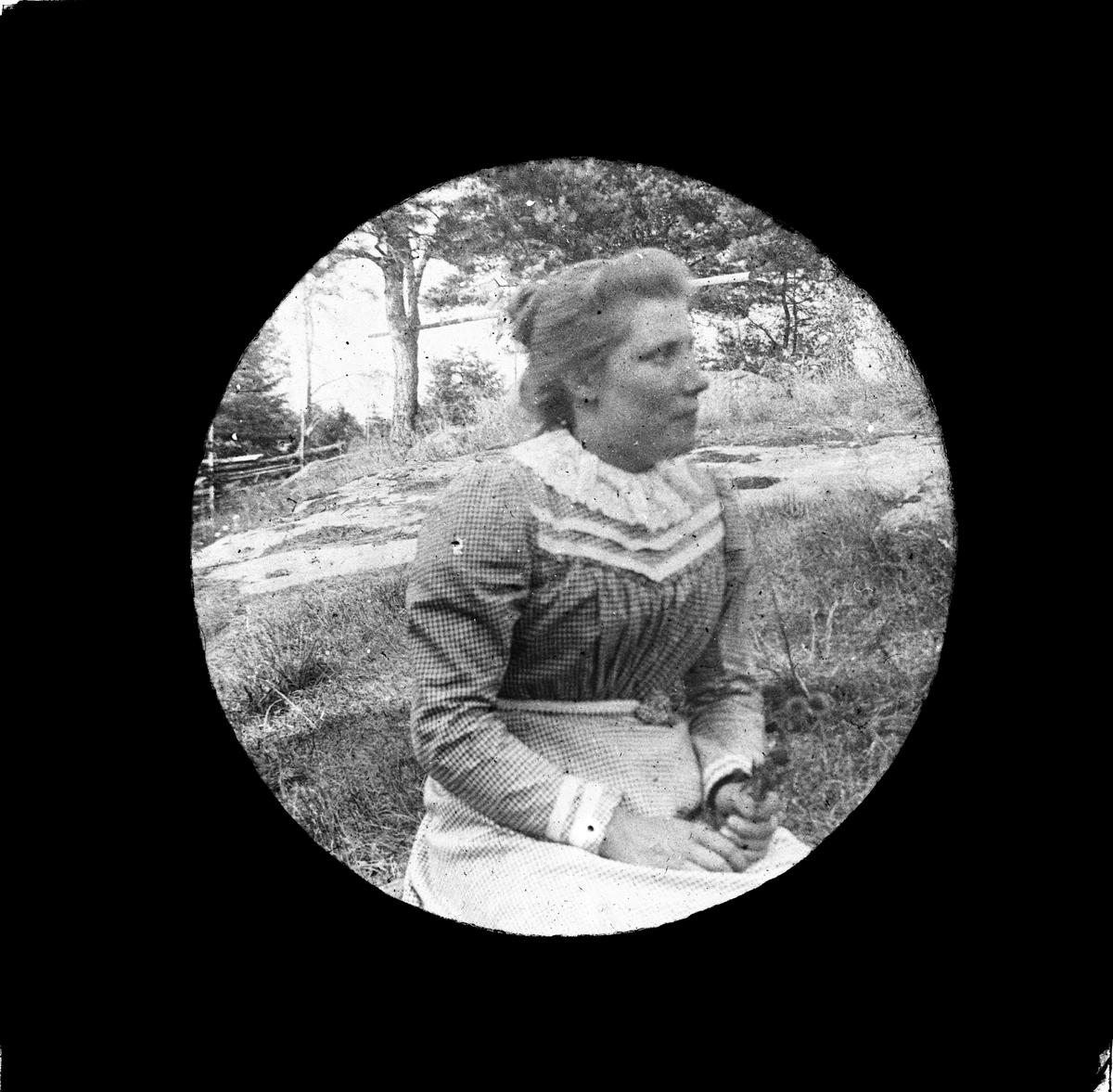 Kvinna, sannolikt Funbo socken, Uppland