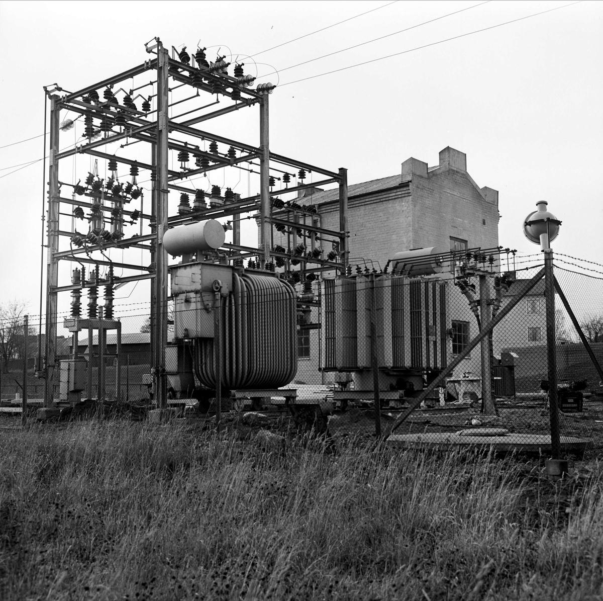 Elverket i Tierp, Uppland november 1966