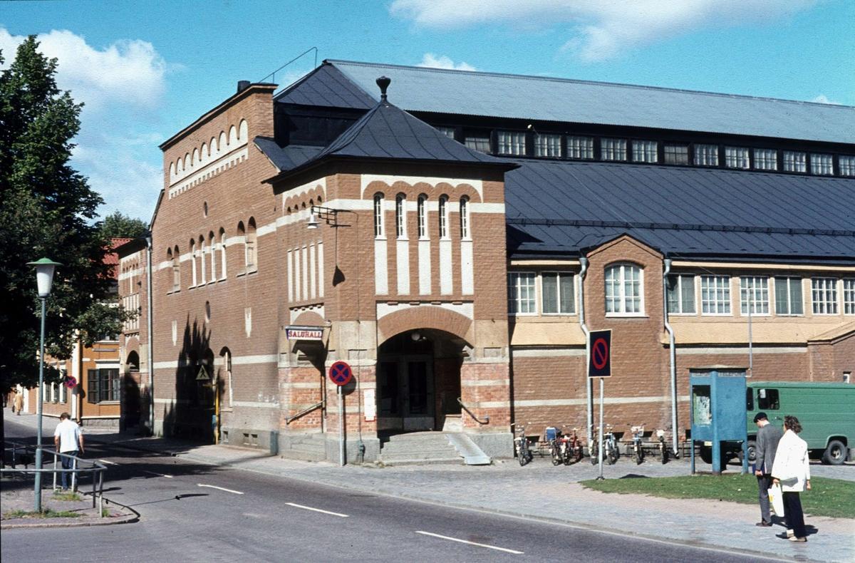 Saluhallen i Uppsala 1973