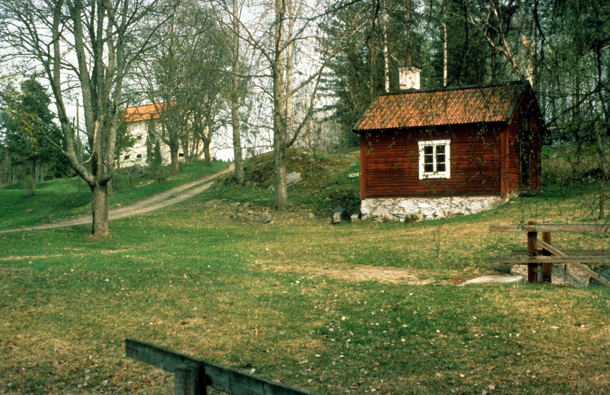 Bebyggelse i Bennebols bruk, Bladåkers socken, Uppland 1984