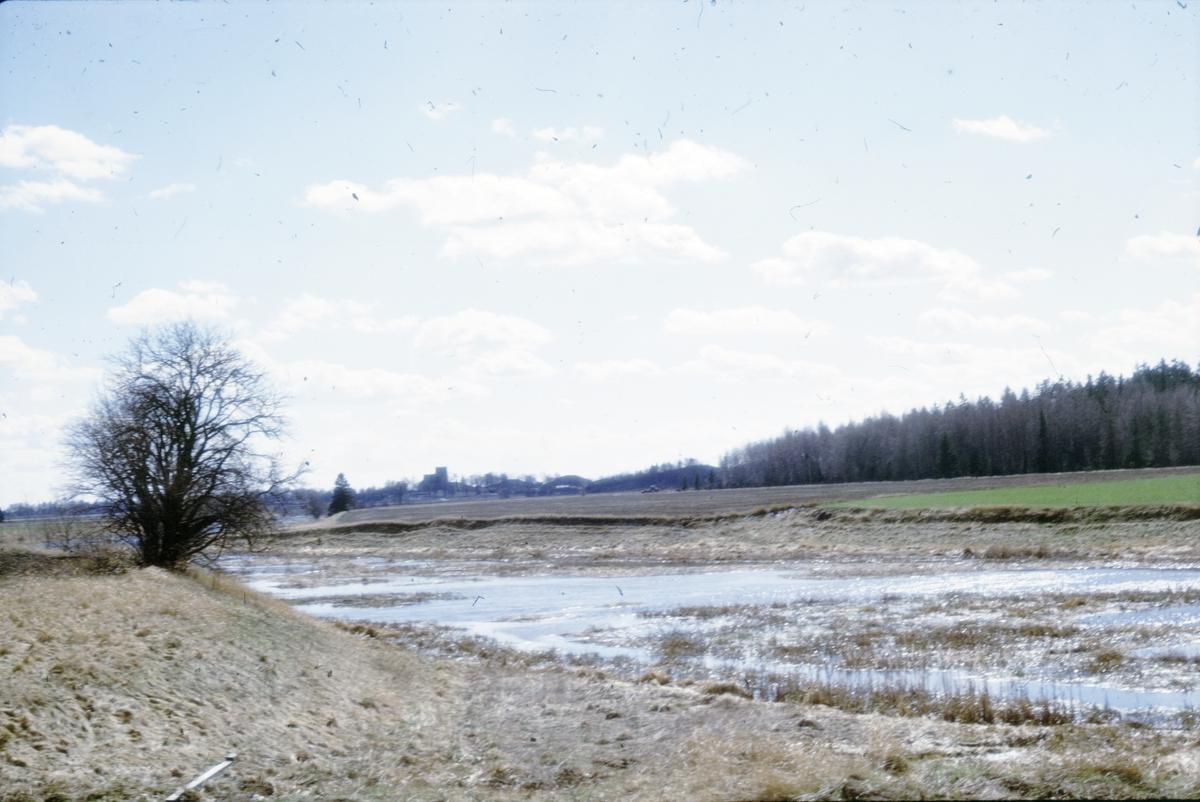 Prästgården, översvämmning - Arkeologi Gamla Uppsala 1973