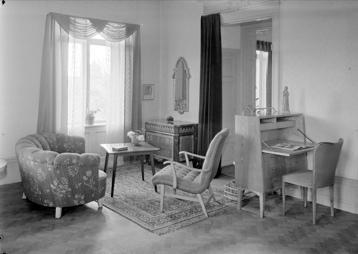 Hemmiljöutställning - Möbelkompaniet Ahl & Walldén, Vaksalagatan, Uppsala 1943
