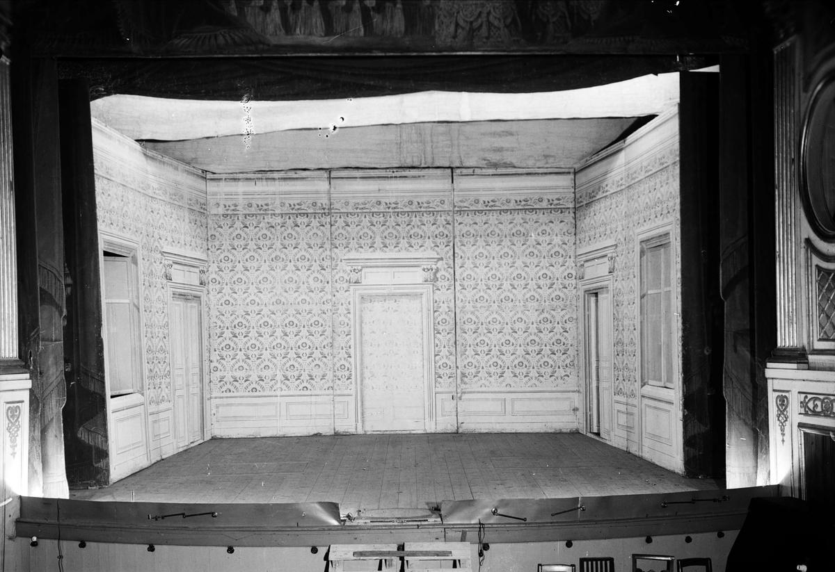 Teaterscenen, Uppsala Teater, Chateau Barowiak, kvarteret Frigg, Uppsala