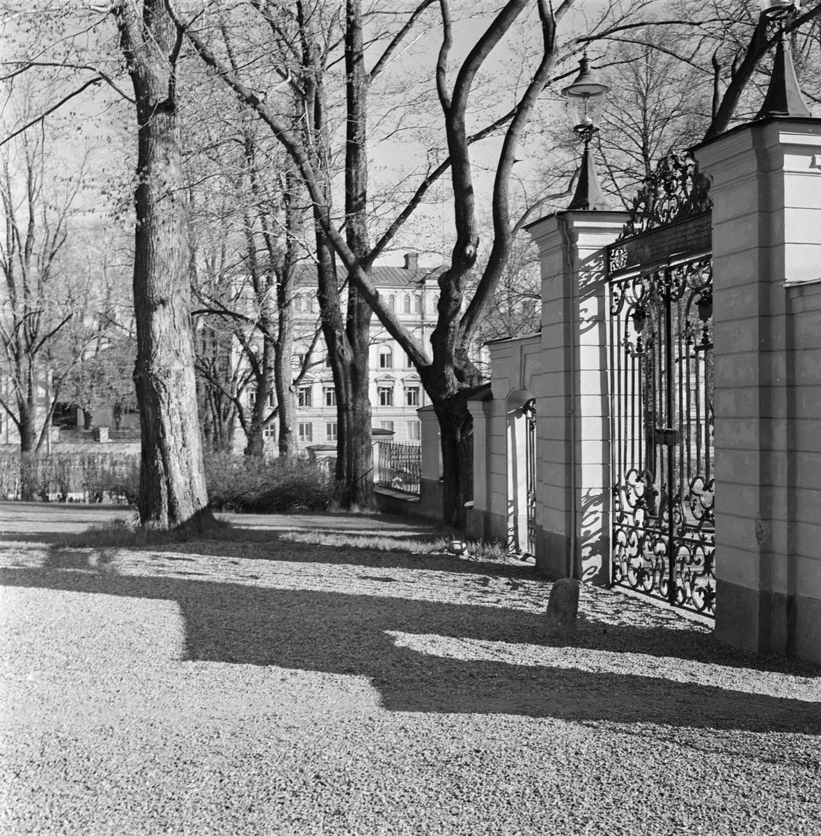 Gårdsplan vid Gävle slott i Gävle, Gästrikland
