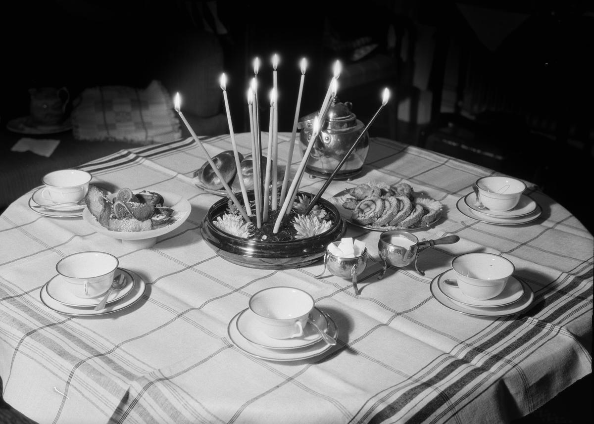 Bordsdukning, Fackskolan för huslig ekonomi, Uppsala november 1932