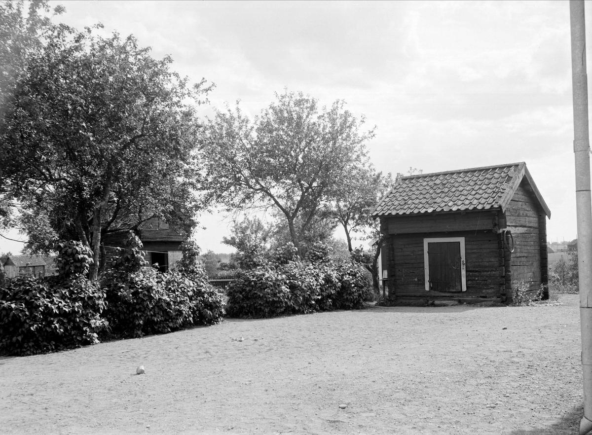 Ärentunaboden - nu på friluftsmuseet Disagården - på ursprunglig plats i Grimsta, Ärentuna socken, Uppland
