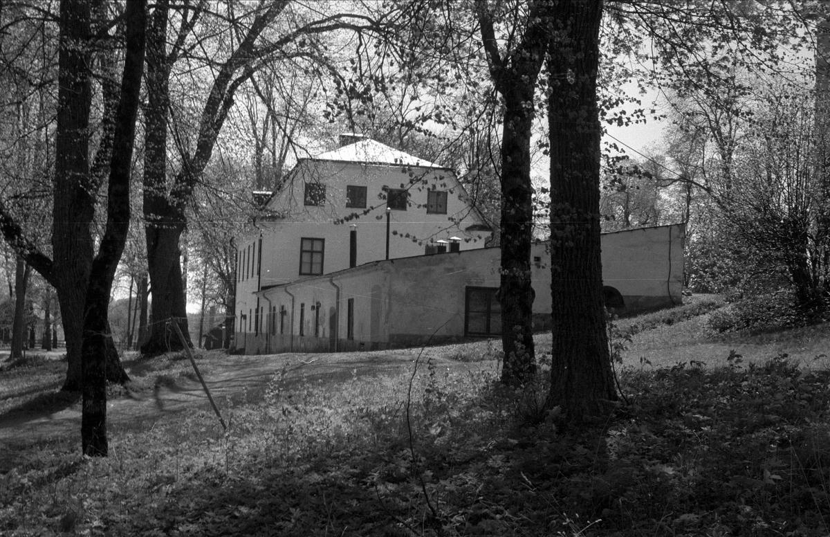 Herrgård och ekonomibyggnader, Sätuna gård, Björklinge socken, Uppland 1976