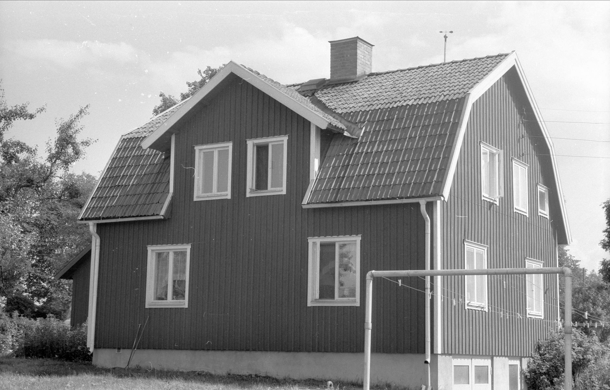 Mangårdsbyggnad, Svista 5:1och 8:1, Bälinge socken, Uppland 1976