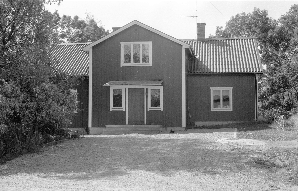 Bostadshus, Alsta 2:2, Börje socken, Uppland 1983