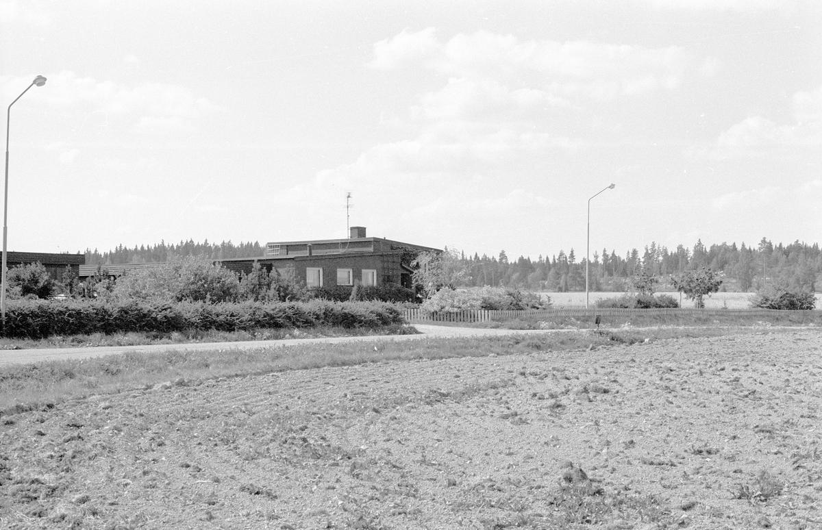Vy över Näset 1:15, Jumkils socken, Uppland 1983