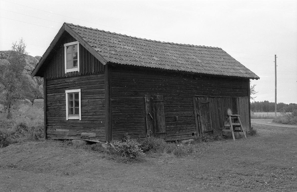 Magasin, Äskelunda, Bälinge socken, Uppland 1983
