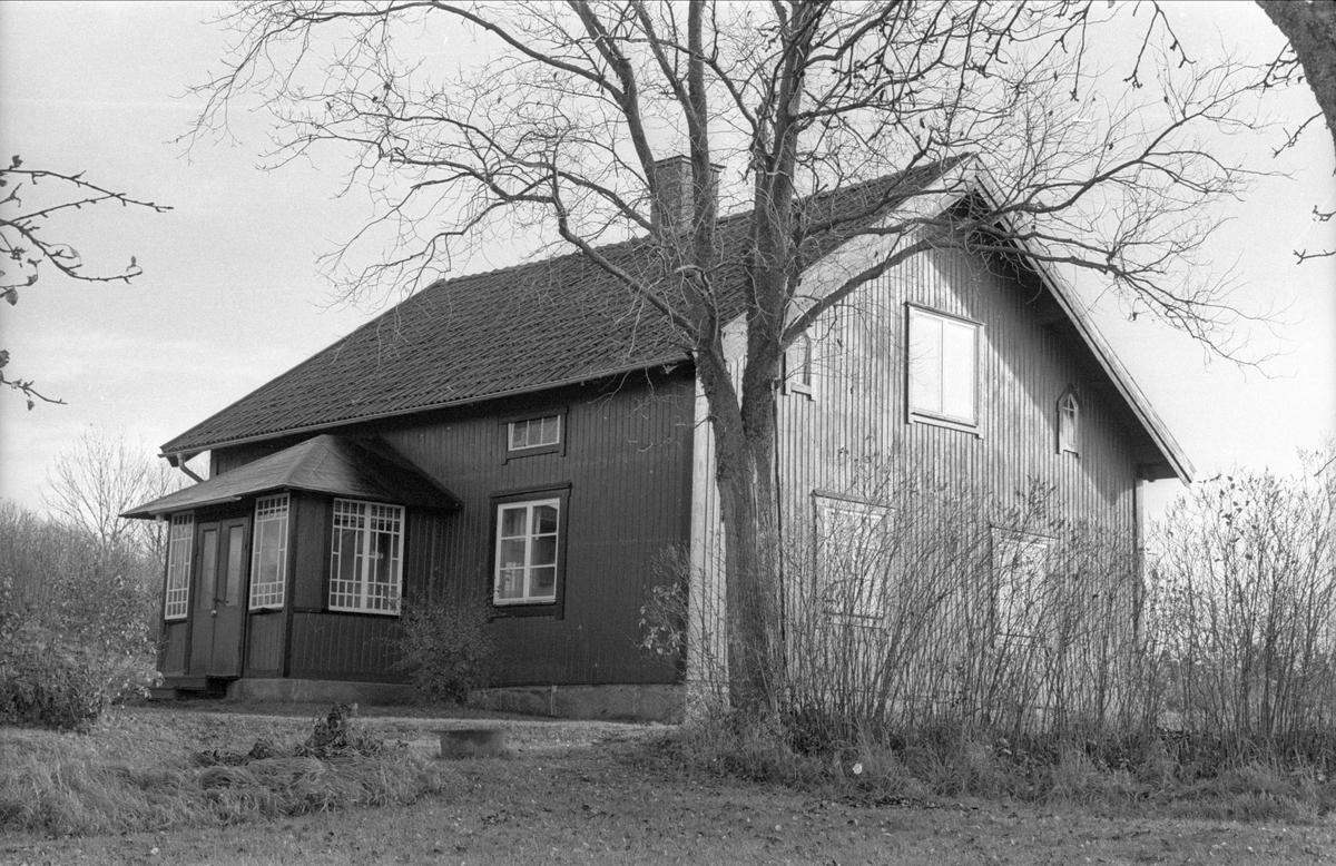 Före detta mangårdsbyggnad, Fullerö 17:13, Vallsgärde, Gamla Uppsala 1978