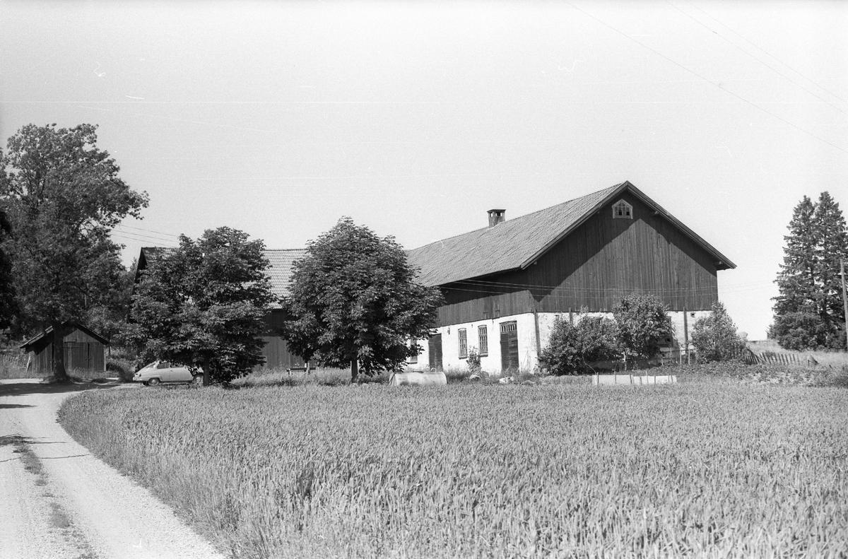 Garage, Västerby 7:1, Västerby, Läby socken, Uppland 1975