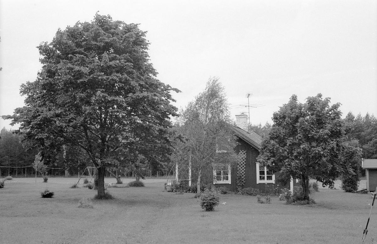 Bostadshus, Sotter 1:8, Sotter, Knutby socken, Uppland 1987