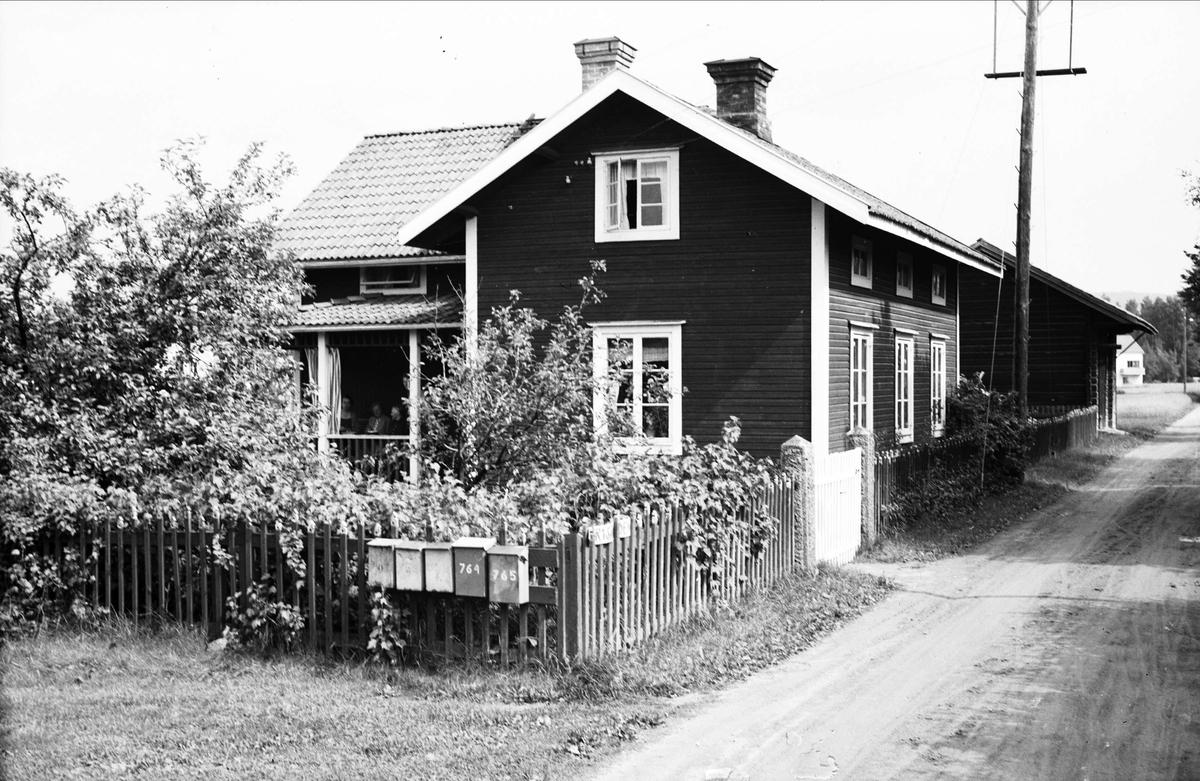 Bostadshus vid bygata, Dalarna