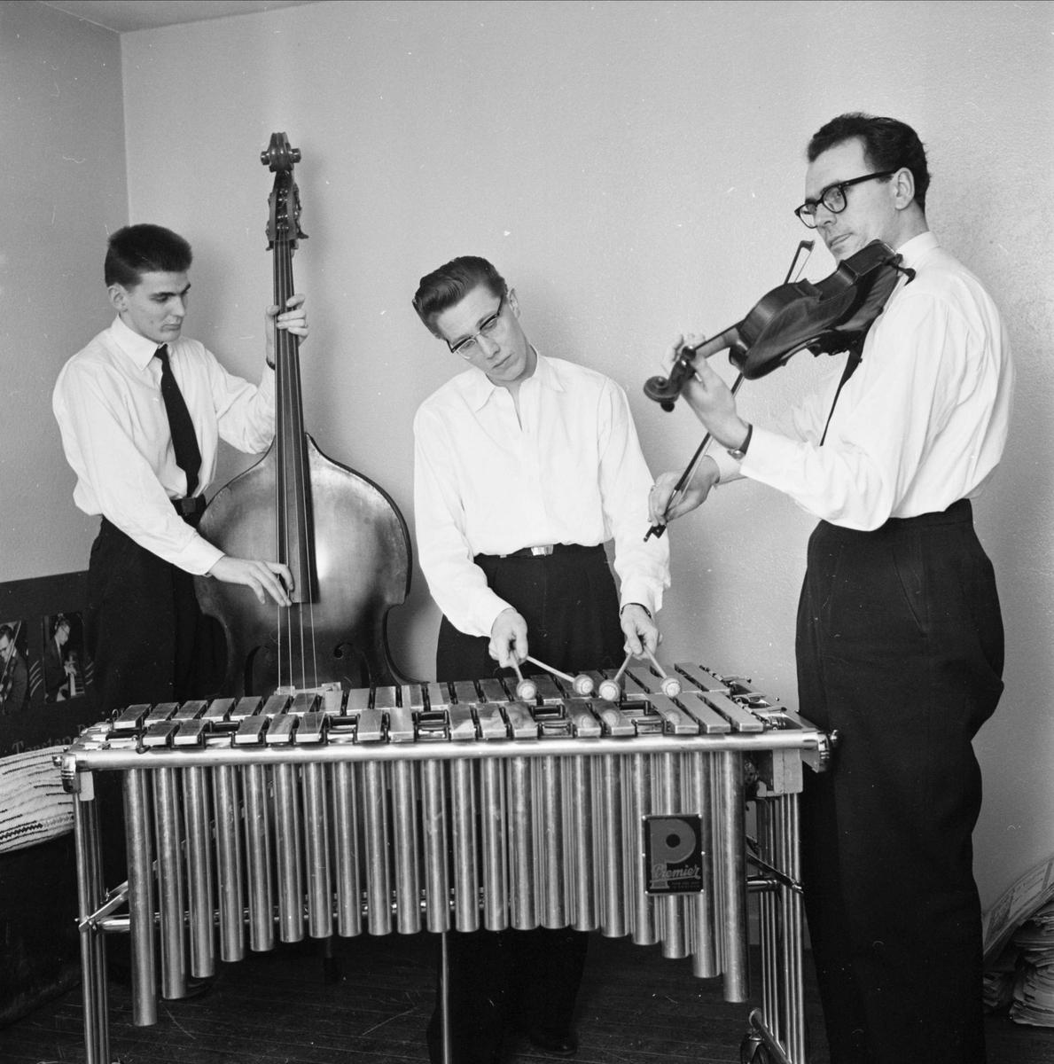 Lasse Björns orkester, Uppsala 1959