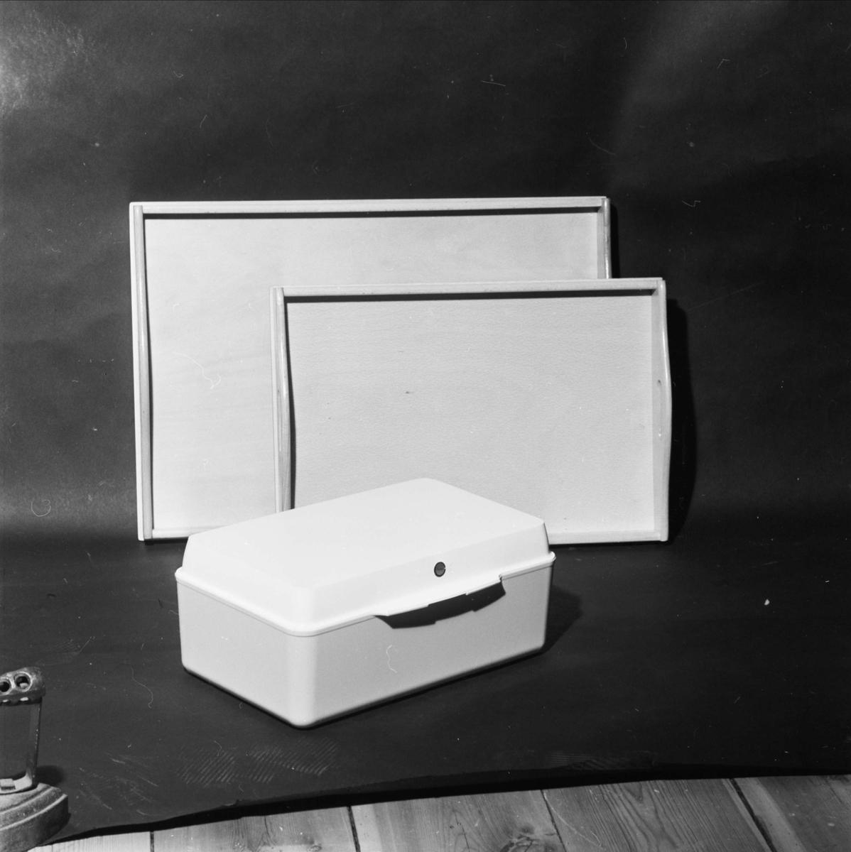Forum - låda och brickor, Uppsala april 1965