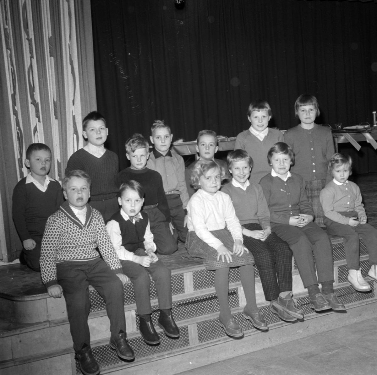 Gunillasvängen - avslutningsfest, Uppsala, februari 1960
