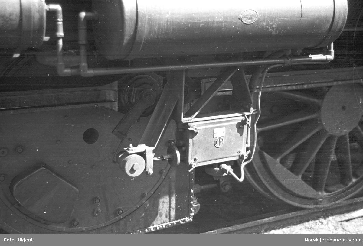 NSB elektrisk lokomotiv type El 1 : detaljer