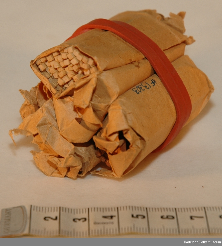 Form: papirpakkning