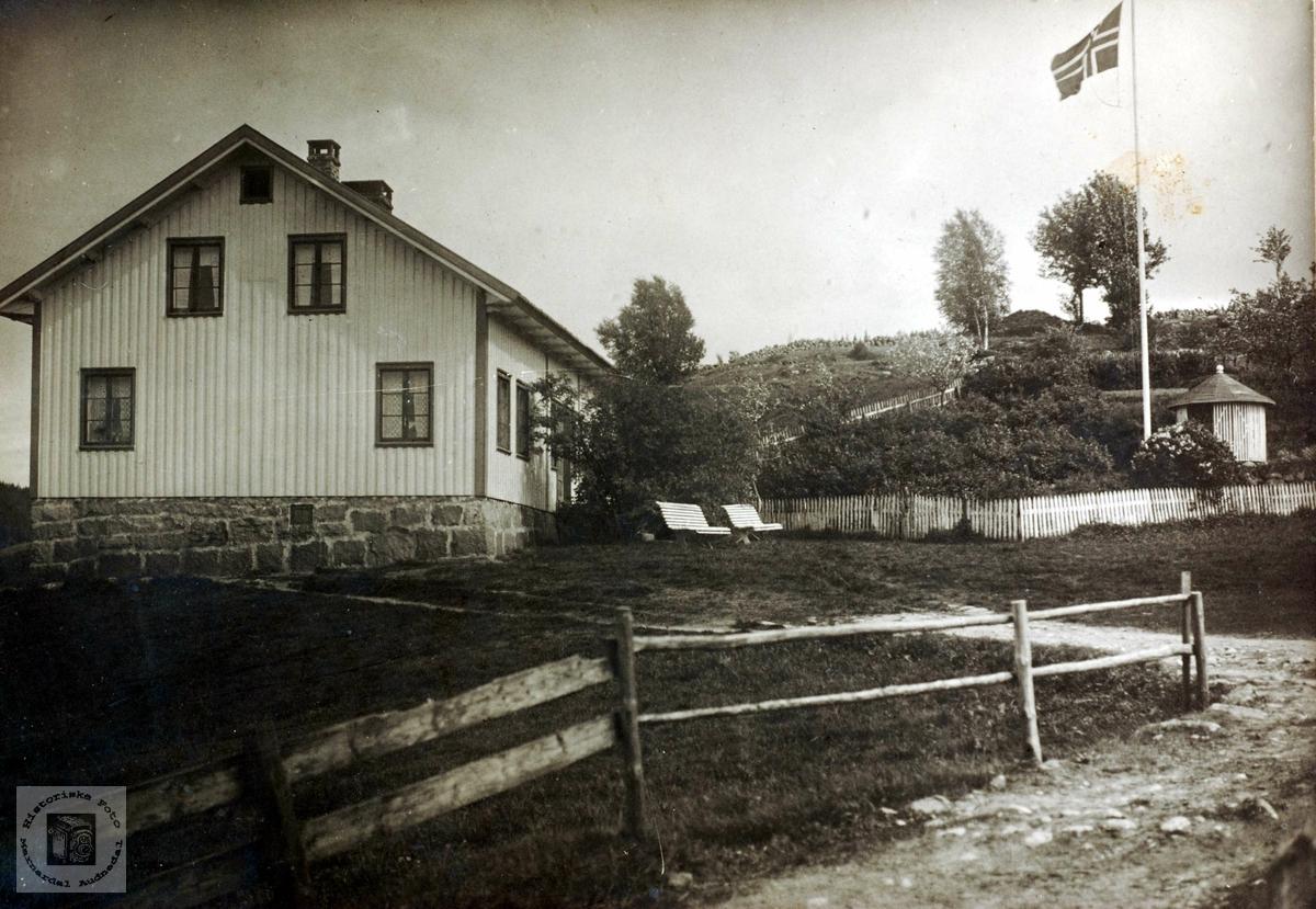 Heimen på Ubostad i Grindheim.
