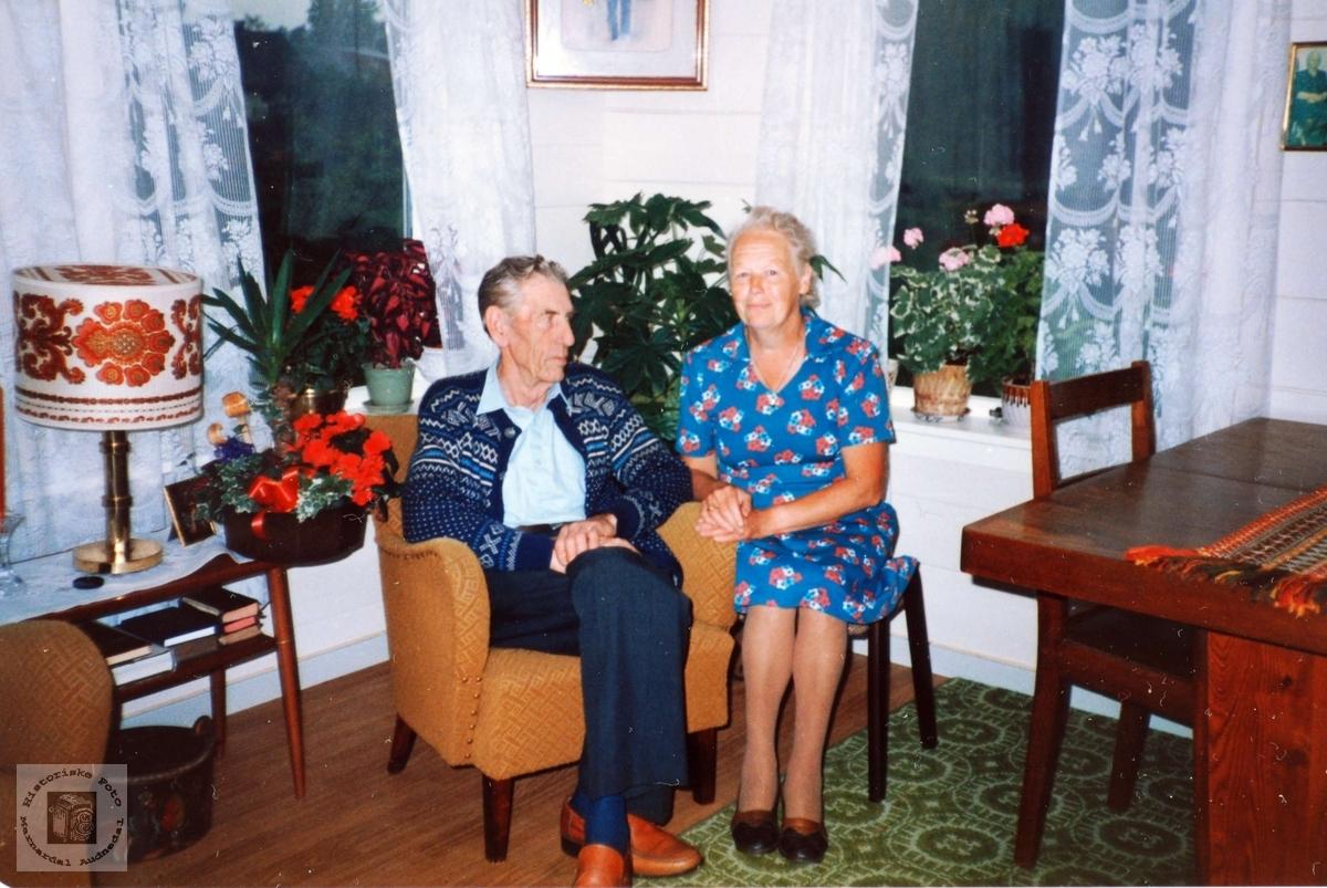 70 årsdagen til Ole Andreas Solberg. Audnedal.