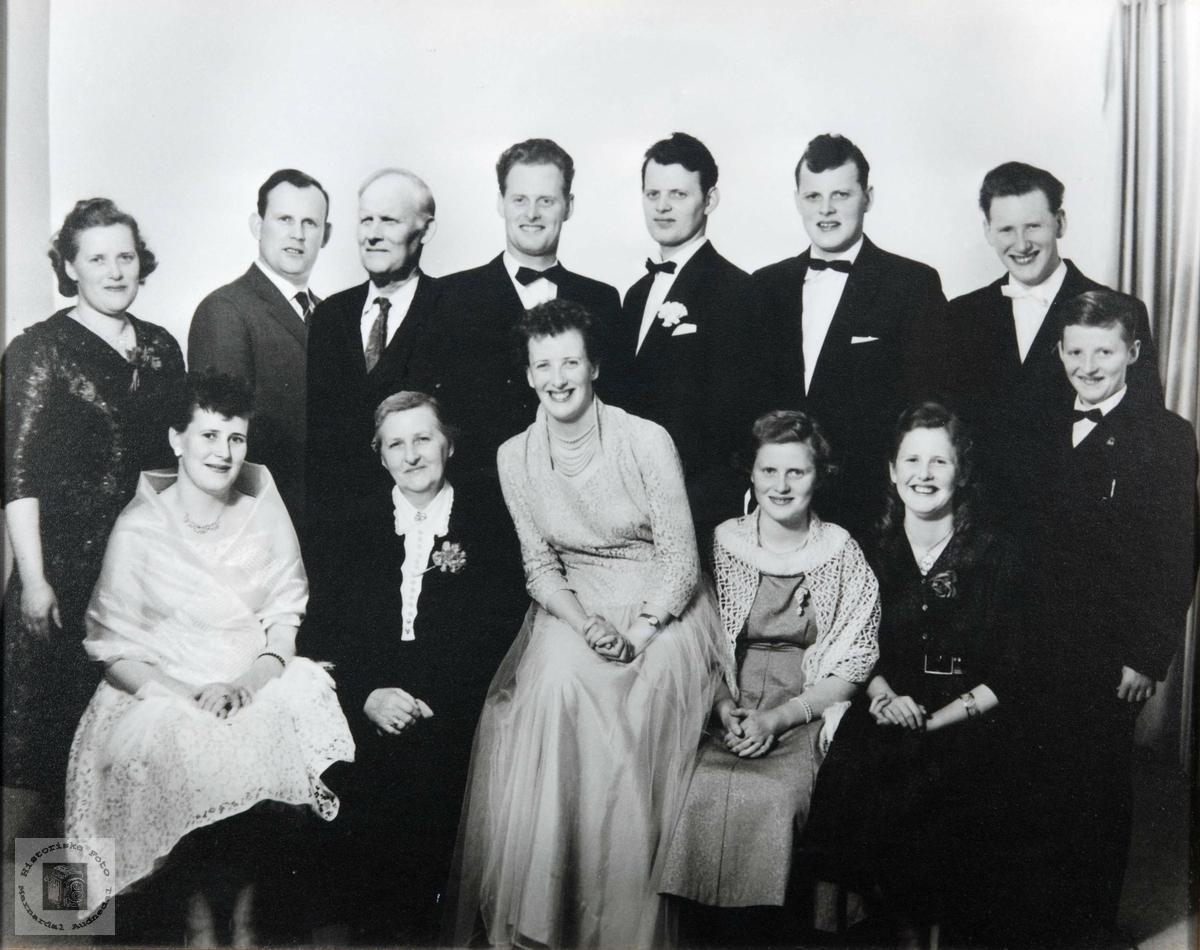 Familien Arnt Larsen i Konsmo. Audnedal.