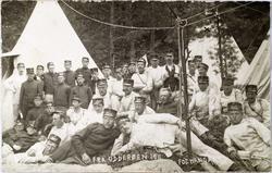 Millitærportrett fra Odderøen 1911.
