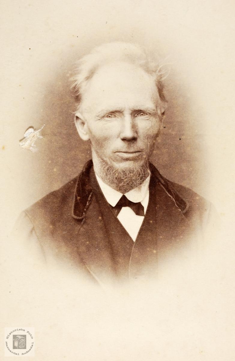 Portrett av John S Leland. Grindheim.