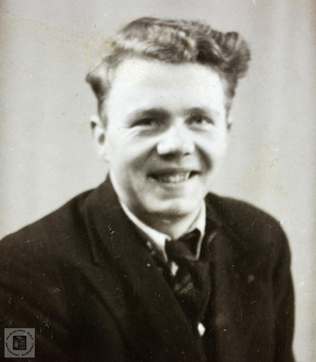 Portrett av Torleif Naglestad. Audnedal.