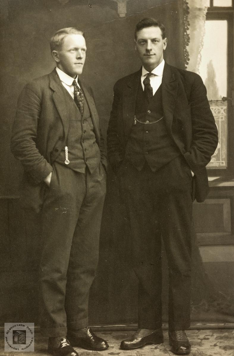 To gode kammerater, Nils og Torleiv Øydna. Grindheim.