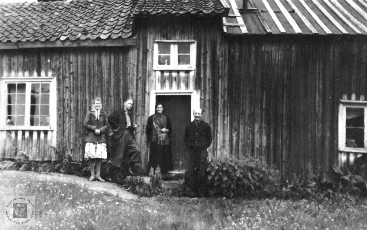 Husmannsplassen Bergan, Bjelland.