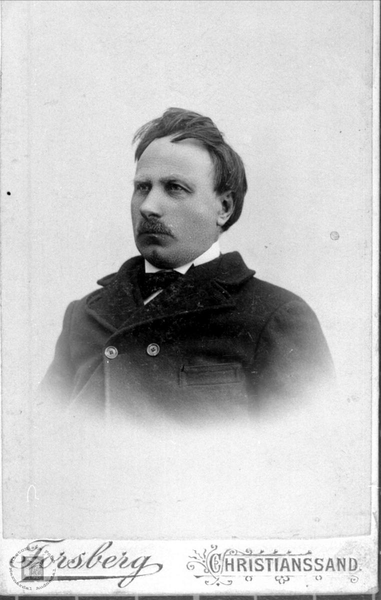 Portrett av Ole d.e. Hesså, Bjelland.
