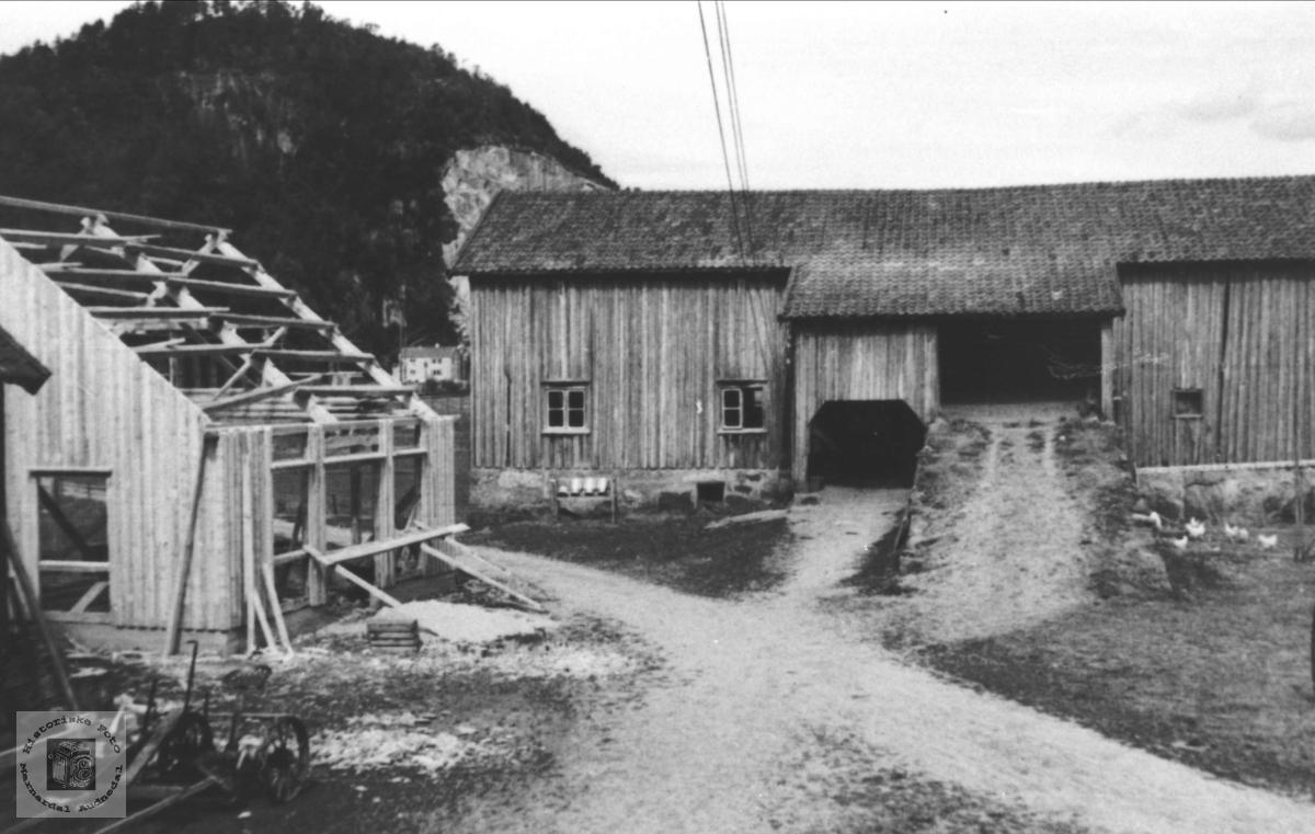 Gamle uthus på Bue, Øyslebø.