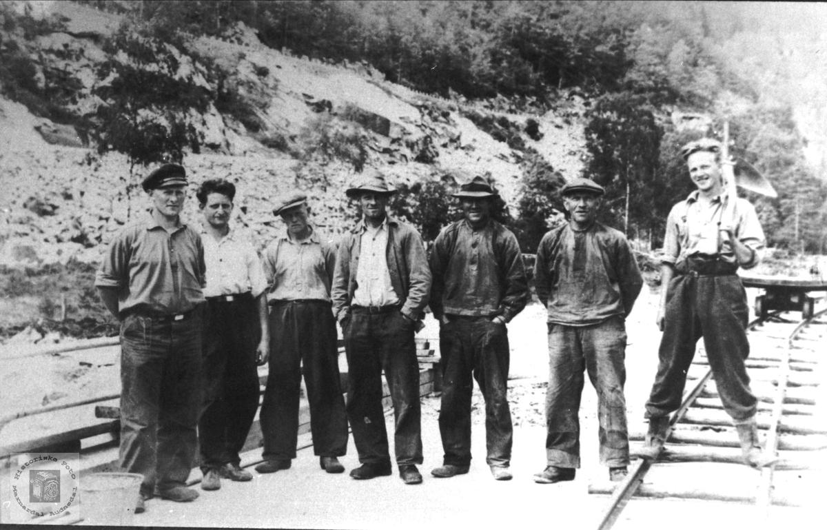 Jernbane arbeidere.
