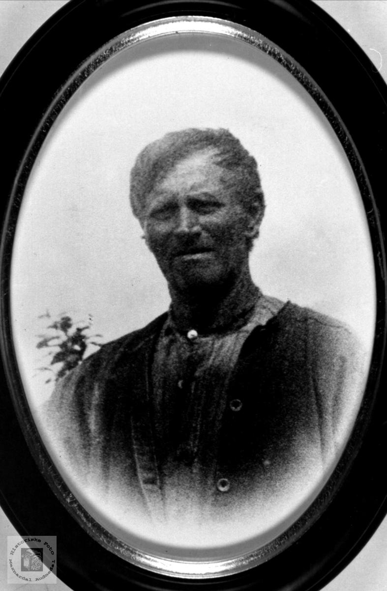Portrett av Beint Kleveland, Finsland, nå Marnardal.