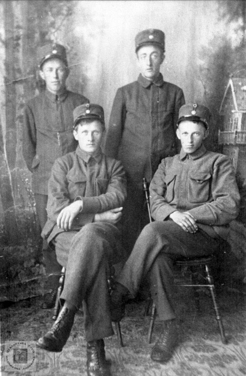 Soldater i 1914