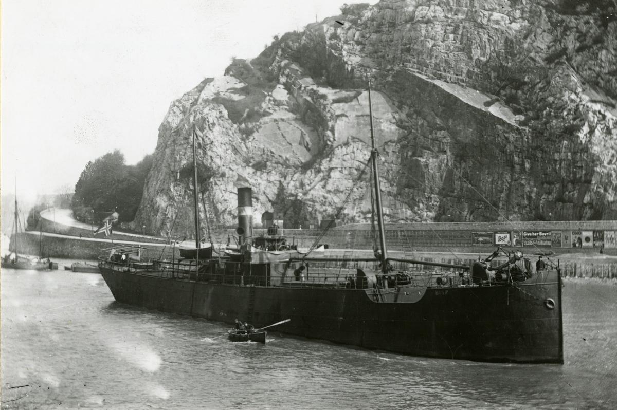 D/S 'Bisp' (Ex. Norli, Normandie, Truro City)(b.1889, Sunderland Shipbuilding Co. Ltd., Sunderland), - i Bristol.