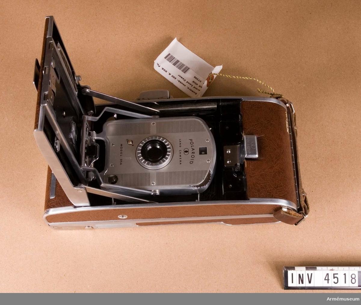 Snabbkamera 600 A, Polaroid Land Camera M 95 A.(M 3832-600011).
