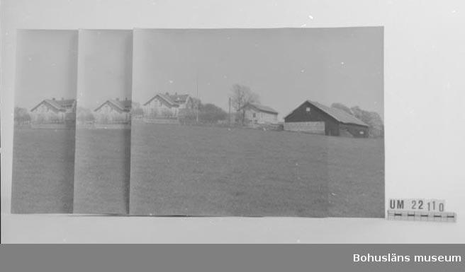 Placerade i kartong UM022109. Alla tre bilderna är gården Hasselberget.