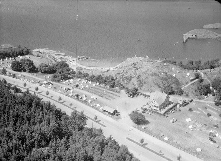 Skeppsvikens camping 1947