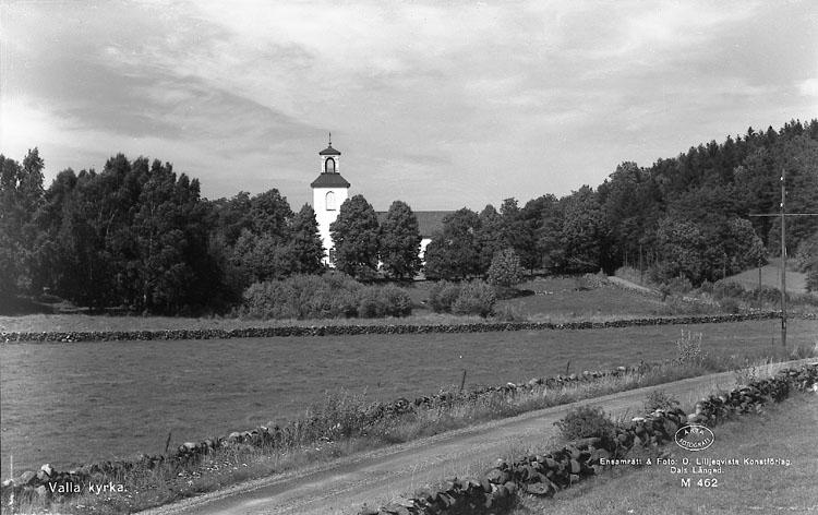 """Enligt AB Flygtrafik Bengtsfors: """"Höviksnäs Valla kyrka Bohuslän""""."""