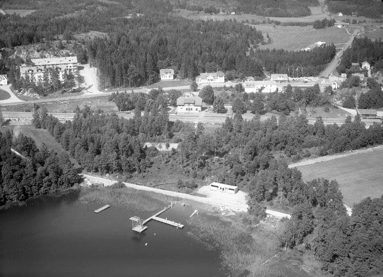 """Enligt AB Flygtrafik Bengtsfors: """"Hällevadsholm Bohuslän""""."""