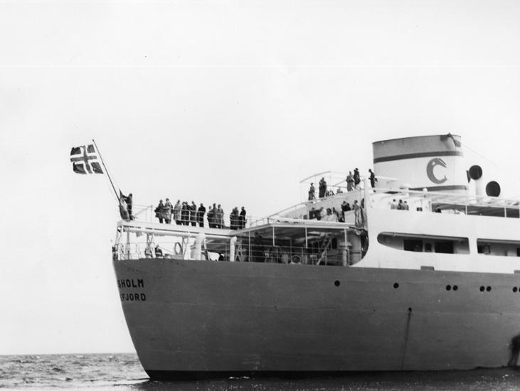 Provtur med fartyget 132 M/T Thorsholm.