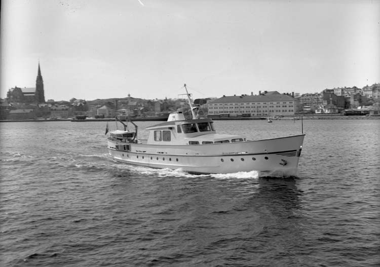 Melita II. Gustaf B. Thordéns lustjakt.