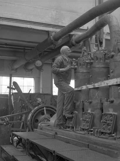 Montering av Skandiamotor, Skandiaverken.