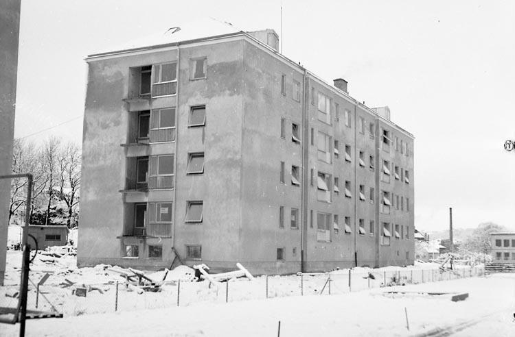 "Enligt notering: ""Byggnadsarbete Vidingsborg Febr 1950""."